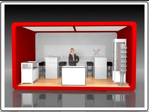 Messebau Caravan Salon hochwertig