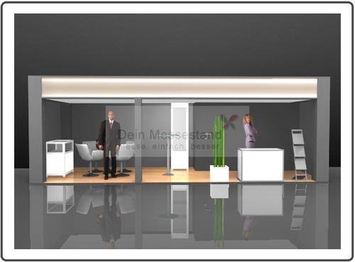 Messebau Digital Factory hochwertig