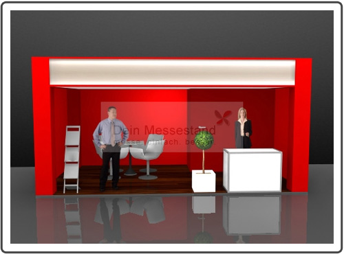 Messebau Light+Building hochwertig
