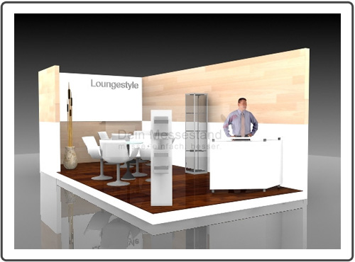 Messestand Boot