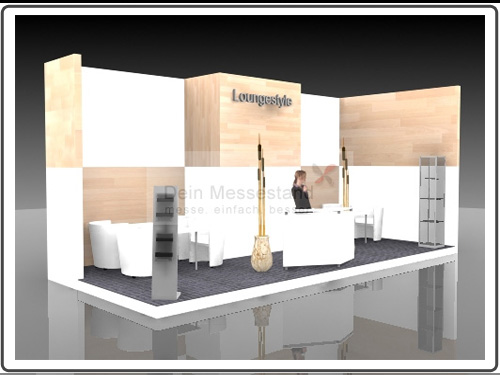 Messestand Caravan Salon