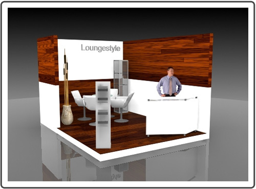 Messestand Denkmal