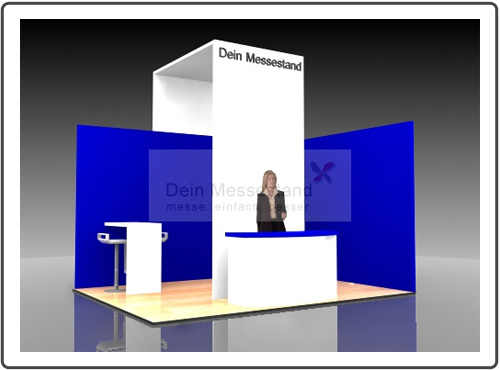 Messestand Exponatec