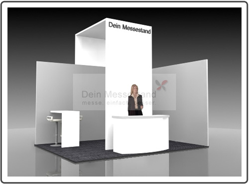 Messestand Fachdental
