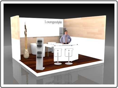 Messestand Glasstec