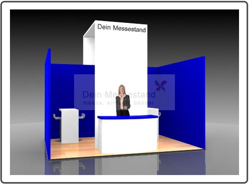 Messestand Infa