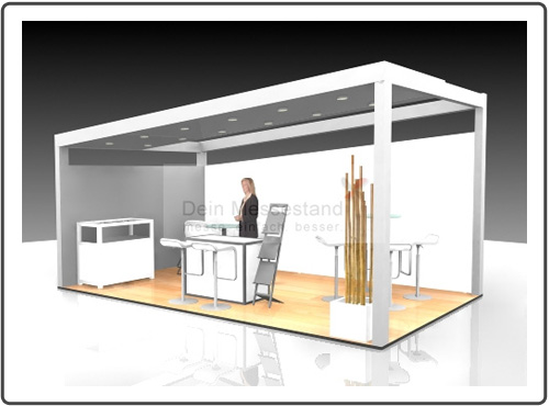 Messestand Maintain