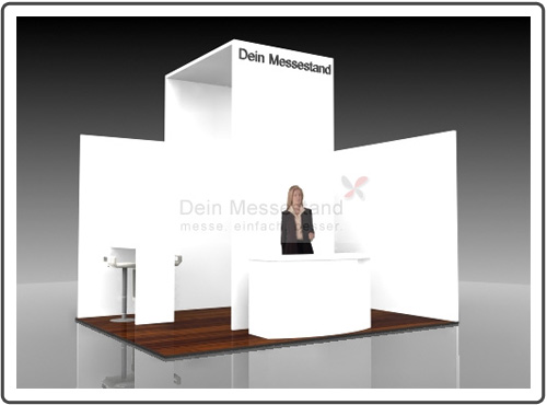 Messestand Power Plant Technology