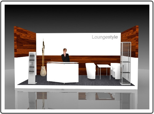 Messestand Vision