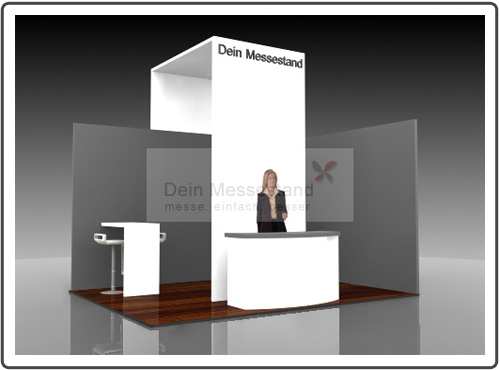 Messestand Wind