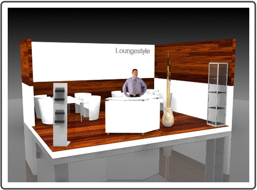 Messestand IMM Cologne