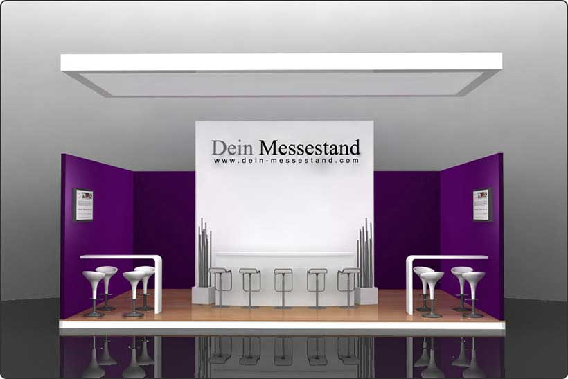 Messestand Berlin mieten und kaufen auf Dein-Messestand.com