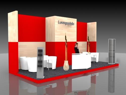Lounge Messebau Düsseldorf