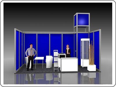 System Messebau Zuliefermesse Leipzig