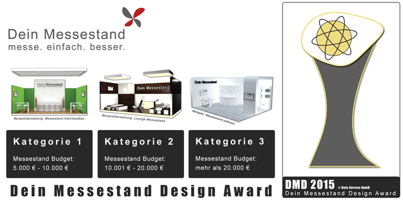 Design Award von Dein-Messestand.com