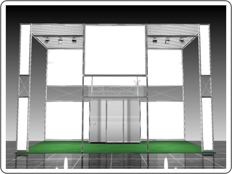 Messebau Aircraft Interiors Ausstellungsstand