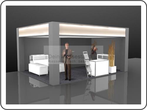 Messebau Biotechnica Ausstellungsstand