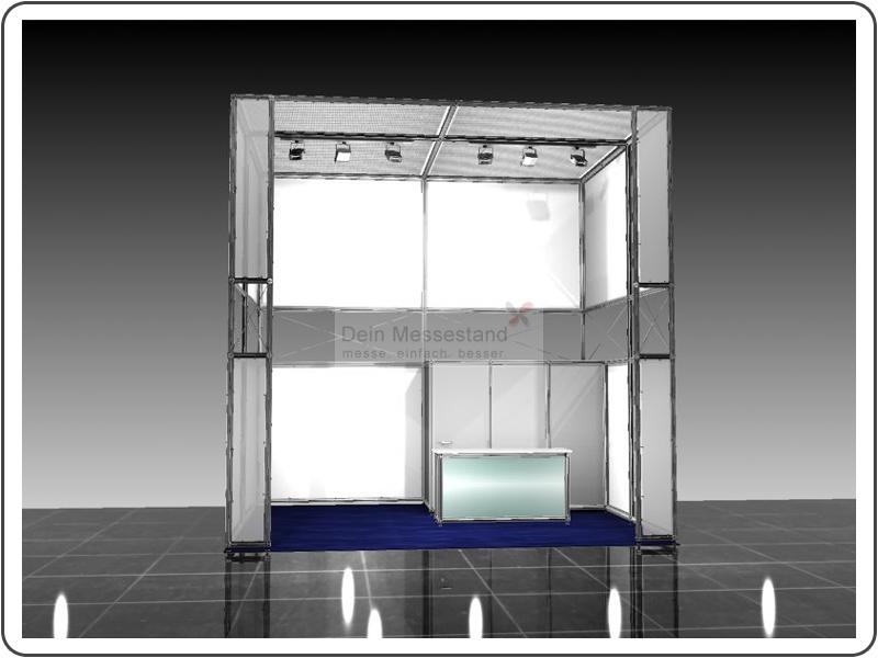 Messebau Embedded World Ausstellungsstand