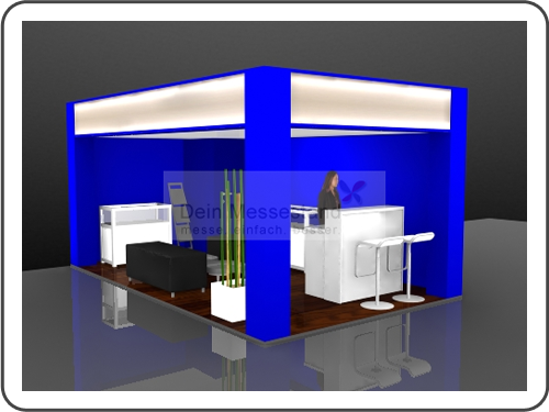 Messebau Exponatec Ausstellungsstand