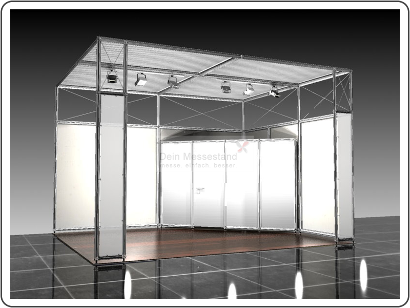 Messebau IAA Ausstellungsstand