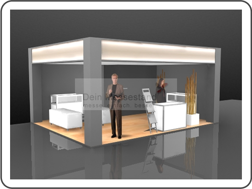 Messebau Industrial Automation Ausstellungsstand