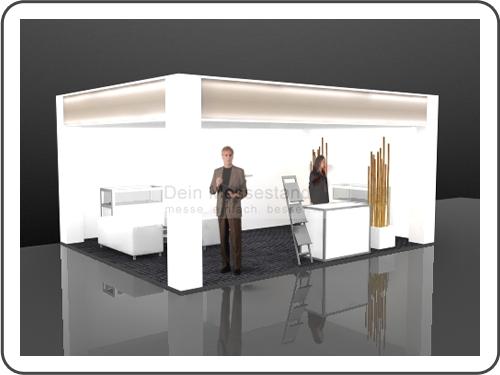 Messebau Ispo Ausstellungsstand