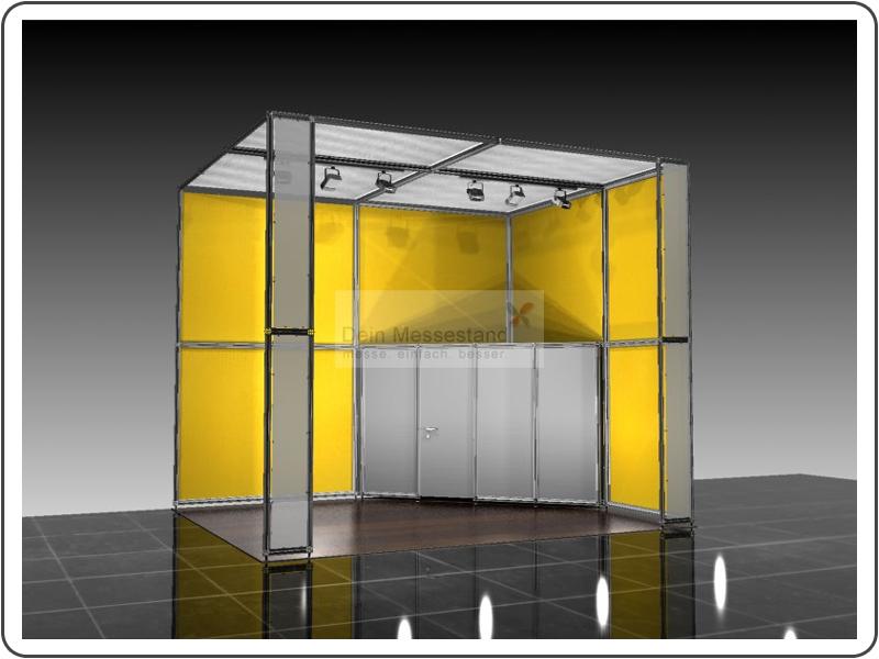 Messebau Midora Ausstellungsstand