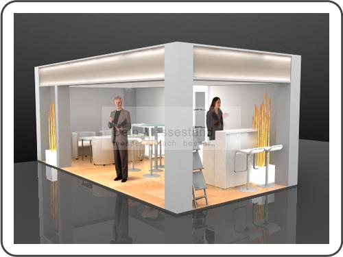 Messebau Productronica Ausstellungsstand