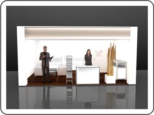 Messebau SMT Hybrid Packaging Ausstellungsstand