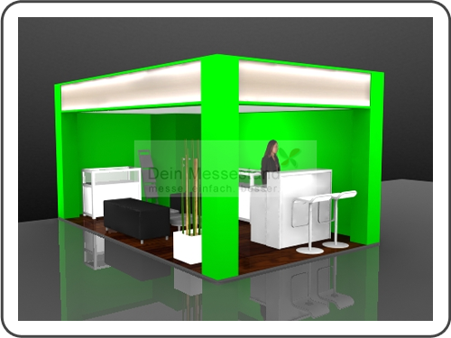 Messebau Terratec Ausstellungsstand