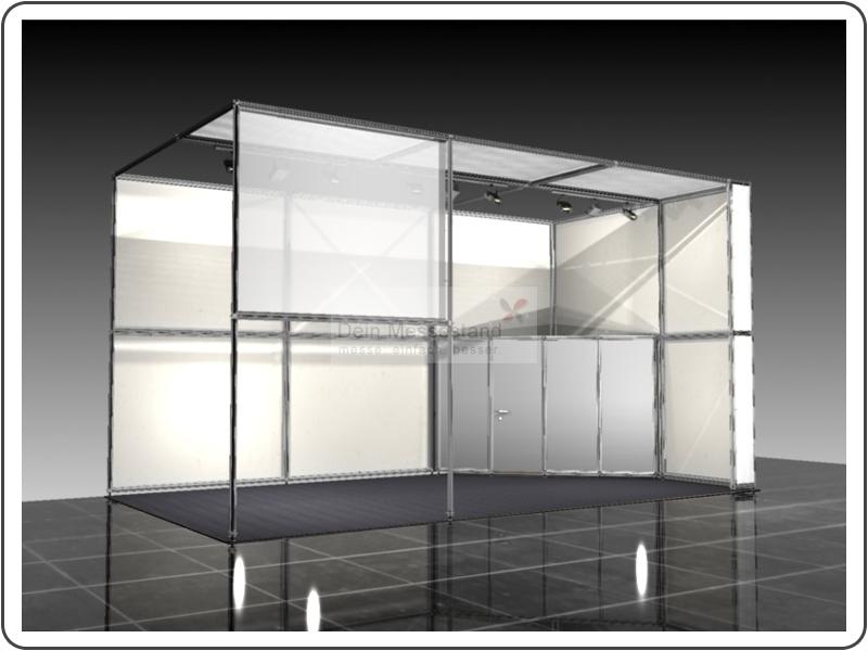 Messebau Tube Ausstellungsstand