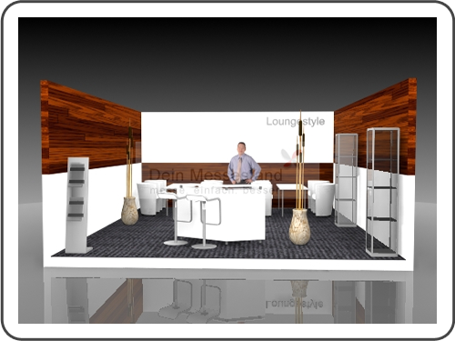 Messebau Biotechnica Individualstand