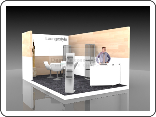 Messebau Call Center World Individualstand