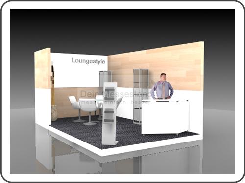 Messebau Call Center World Individualstand