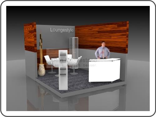 Messebau ComVac Individualstand