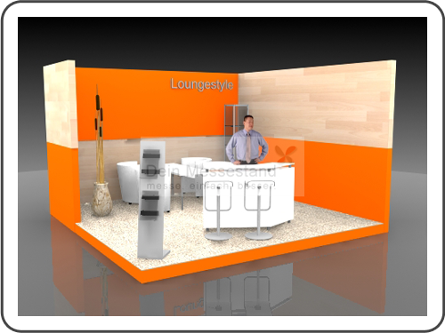 Messebau Domotex Individualstand