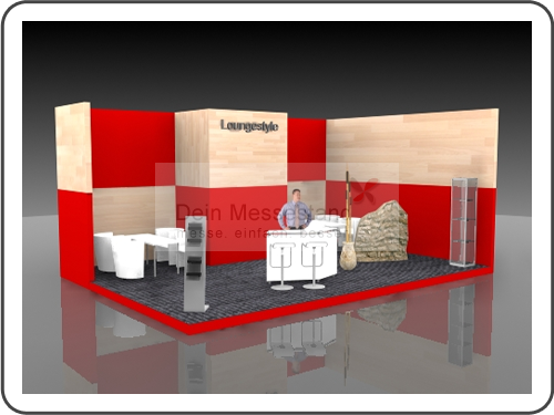 Messebau Euroshop Individualstand