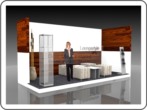 Messebau IMEX Individualstand