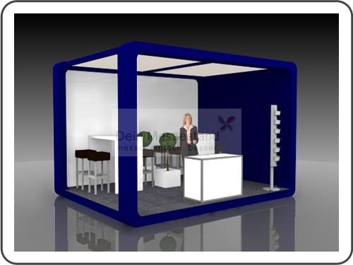 Messebau Aircraft Interiors mit Design