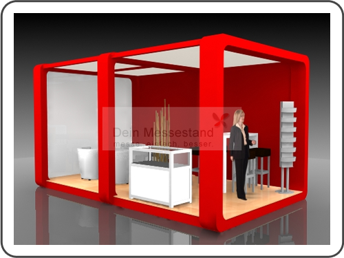 Messebau Biotechnica mit Design