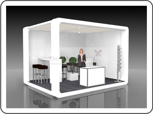 Messebau Blechexpo mit Design