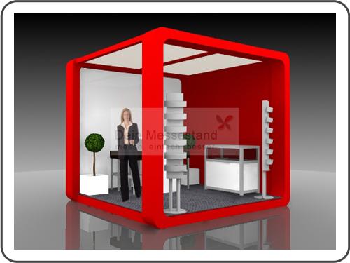 Messebau Call Center World mit Design