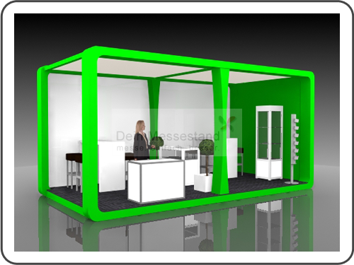 Messebau Expo Real mit Design