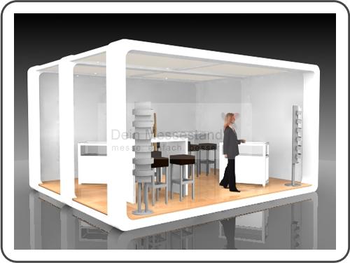 Messebau Hanseboot mit Design