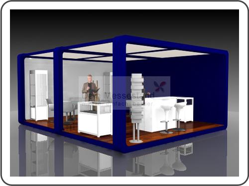 Messebau IFA mit Design