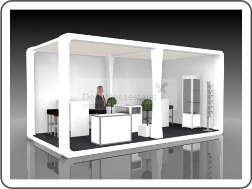 Messebau IMEX mit Design