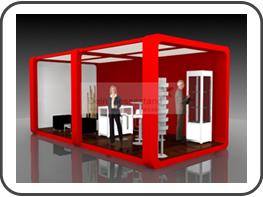 messebau ism messestand f r die ism k ln. Black Bedroom Furniture Sets. Home Design Ideas