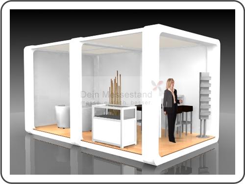 Messebau Industrial Automation mit Design