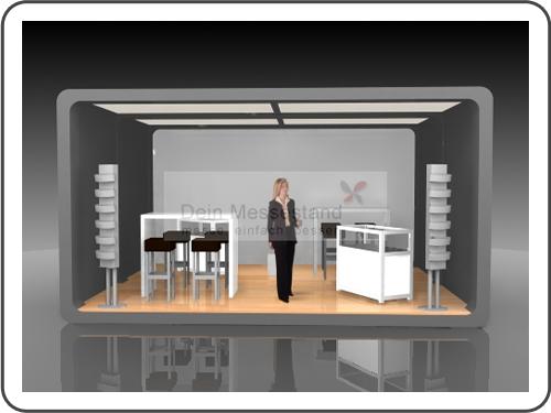 Messebau Laser World mit Design
