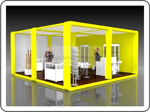 Messebau LogiMAT mit Design